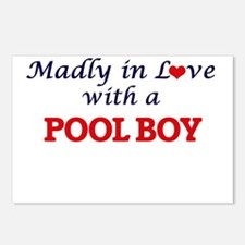 Madly in love with a Pool Postcards (Package of 8)