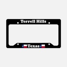 Terrell Hills TX - LPF License Plate Holder