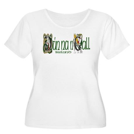 Donegal Dragon (Gaelic) Women's Plus Size Scoop Ne