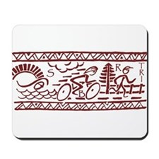 RED TRI-BAND Mousepad