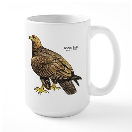 Golden Eagle Bird Large Mug