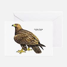 Golden Eagle Bird Greeting Cards (Pk of 10)
