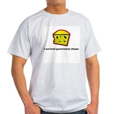 I survived government Cheese T-Shirt