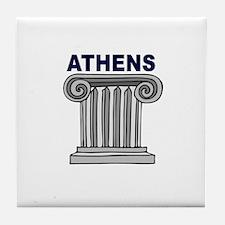 Athens, Greece Tile Coaster