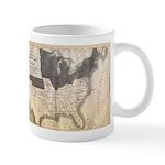 1861 Map Mug