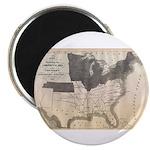 1861 Map Magnet