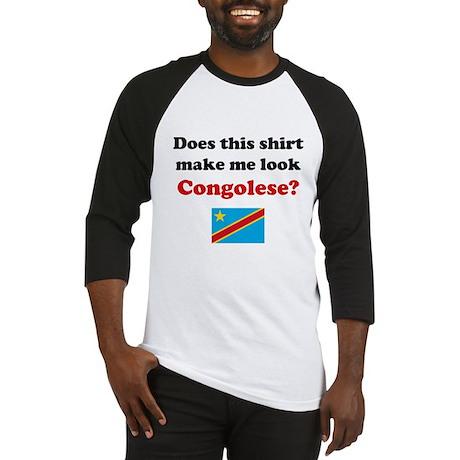 Make Me Look Congolese Baseball Jersey