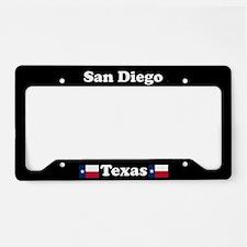 San Diego TX - LPF License Plate Holder