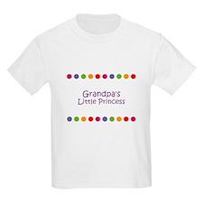 Grandpa's Little Princess T-Shirt