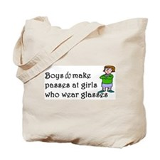 Cute Four eyes Tote Bag