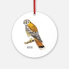 American Kestrel Bird Keepsake (Round)