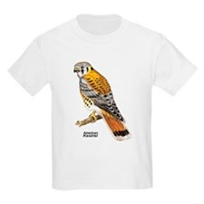 American Kestrel Bird (Front) Kids T-Shirt