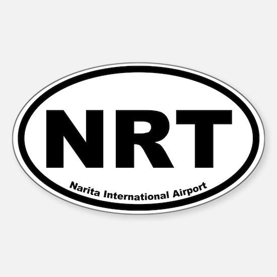 Narita International Airport Oval Decal