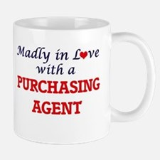 Madly in love with a Purchasing Agent Mugs