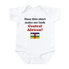 Make Me Look Central African Infant Bodysuit