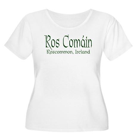 Roscommon (Gaelic) Women's Plus Size Scoop Neck T-