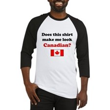 Make Me Look Canadian Baseball Jersey