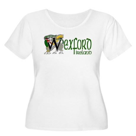 County Wexford Women's Plus Size Scoop Neck T-Shir