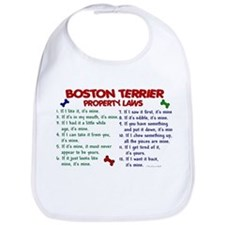 Boston Terrier Property Laws 2 Bib