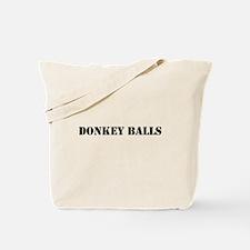 Donkey Balls Tote Bag