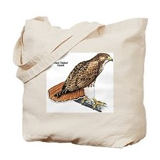 Red-Tailed Hawk Bird Tote Bag