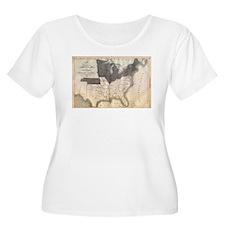 1861 Map T-Shirt