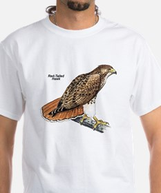 Red-Tailed Hawk Bird (Front) Shirt