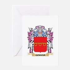 Gorham Coat of Arms (Family Crest) Greeting Cards