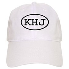 KHJ Oval Baseball Baseball Cap