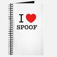 I Love SPOOF Journal