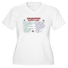 Dalmatian Property Laws 2 T-Shirt
