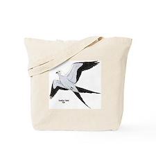 Swallow-Tailed Kite Bird Tote Bag