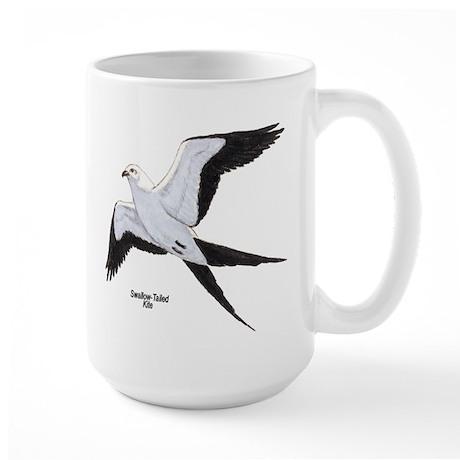 Swallow-Tailed Kite Bird Large Mug