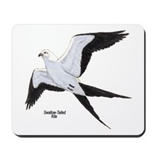 Swallow-Tailed Kite Bird Mousepad