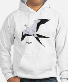 Swallow-Tailed Kite Bird (Front) Hoodie
