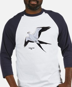 Swallow-Tailed Kite Bird (Front) Baseball Jersey