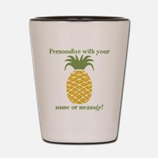 PERSONALIZED Pineapple Shot Glass