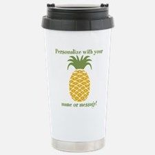 PERSONALIZED Pineapple Travel Mug