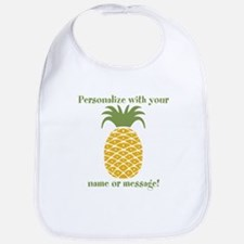 PERSONALIZED Pineapple Bib