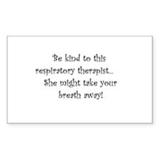 Be Kind to this RT Rectangle Decal