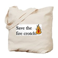 Cute Flames Tote Bag