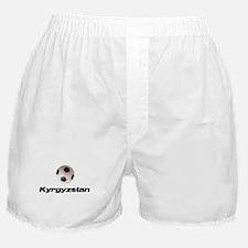 Kyrgyzstan Soccer Boxer Shorts