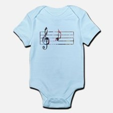 Musical Note Body Suit