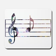 Musical Note Mousepad