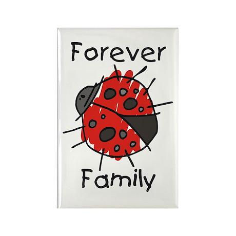 Forever Family Rectangle Magnet