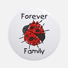 Forever Family Ornament (Round)
