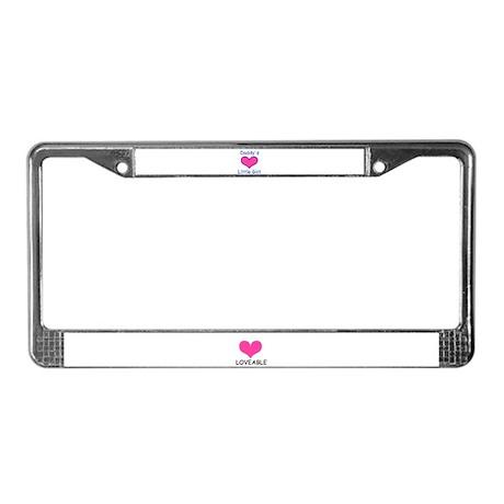 LOVEABLE License Plate Frame