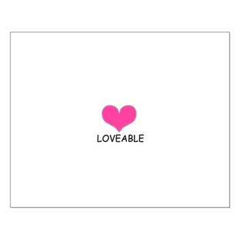 LOVEABLE Small Poster