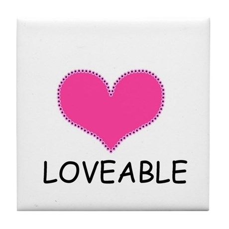 LOVEABLE Tile Coaster