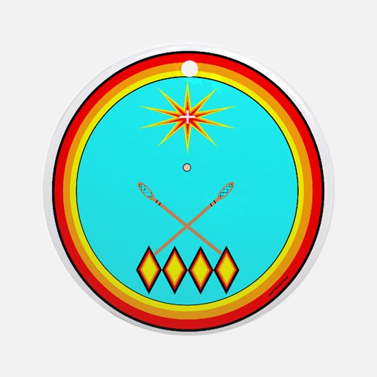 CHICKASAW Ornament (Round)